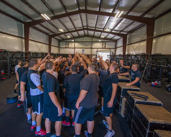 Weight Lifting 8-16-16