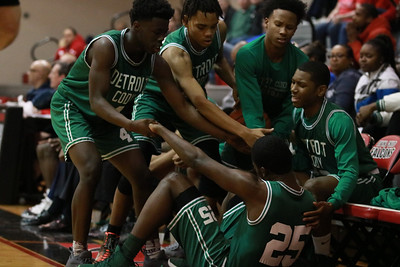 HS Sports - Divine Child vs. Detroit Cody Boys Basketball District Final