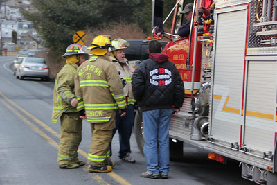 Electrical Fire-Response, Mountain Road, New Philadelphia (2-24-2013)