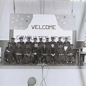 1965 Graduation program 1965