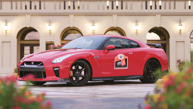 2017 Nissan GT-R Track Edition Parked Reel