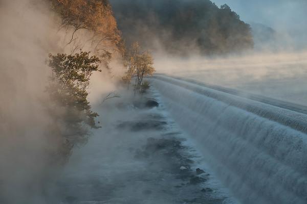 Misty Croton Dam