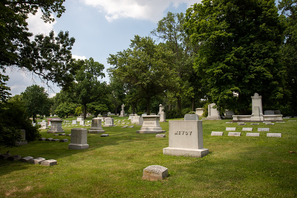 Bellefontaine Cemetery July 2020