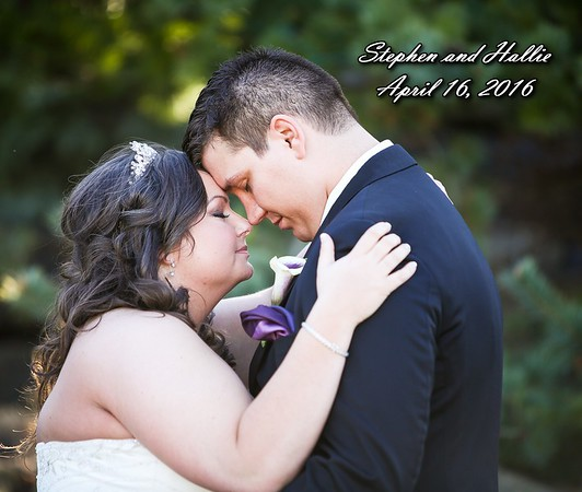 Hallie & Stephen 13x11 Wedding Album