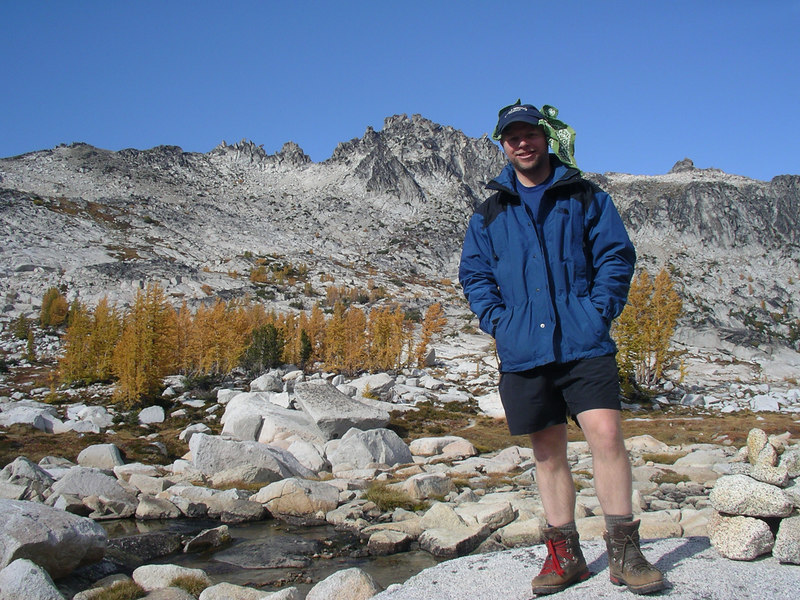 Joe, and I think Enchantment Peak in the back.