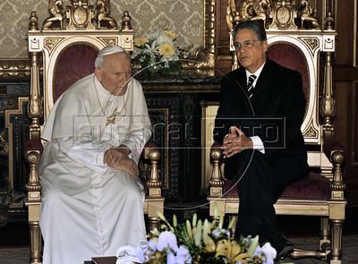Pope John Paul II in Brazil 1997