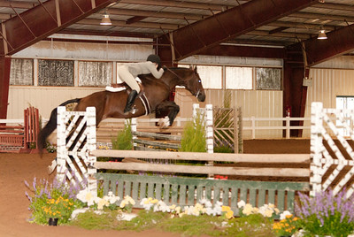 "Class 43 - Regular Working Hunter 3'3"", Course A"