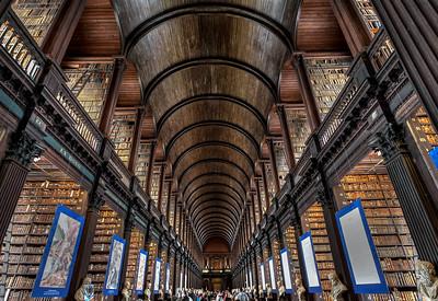 Trinity College Library, Dublin, 2015