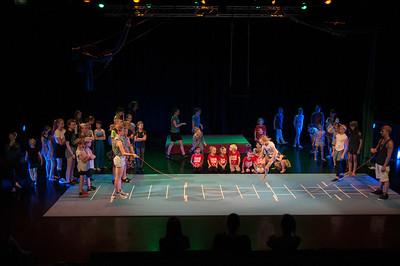 Eindvoorstelling Circus 2018