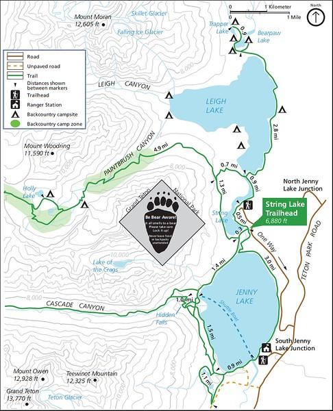 Grand Teton National Park (String Lake Trailhead)