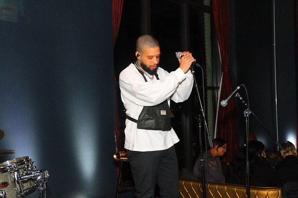 Kenneth Whalum Jr@ the W in DC