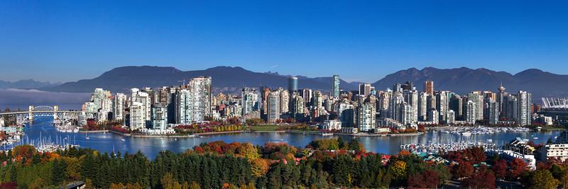 Vancouver Skyline Panorama