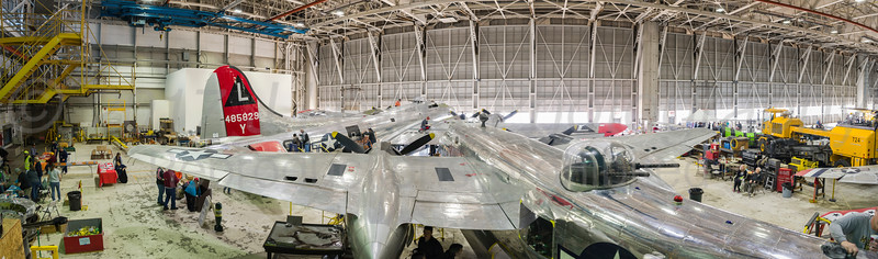 Yankee Air Museum The Bomber buffing event 2017