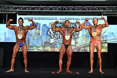 Men's Bodybuilding Masters 35+ LW