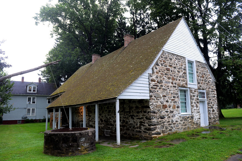 Tania Barricklo-Daily Freeman                      The Bevier House on Huguenot St. in New Platz, N.Y. was built by patentee Louis Bevier in 1698.