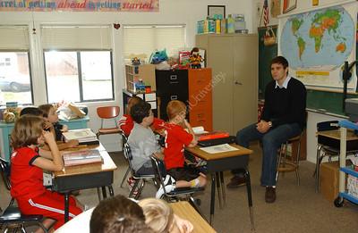 23817 Westover Elementary Joe Herber with kids