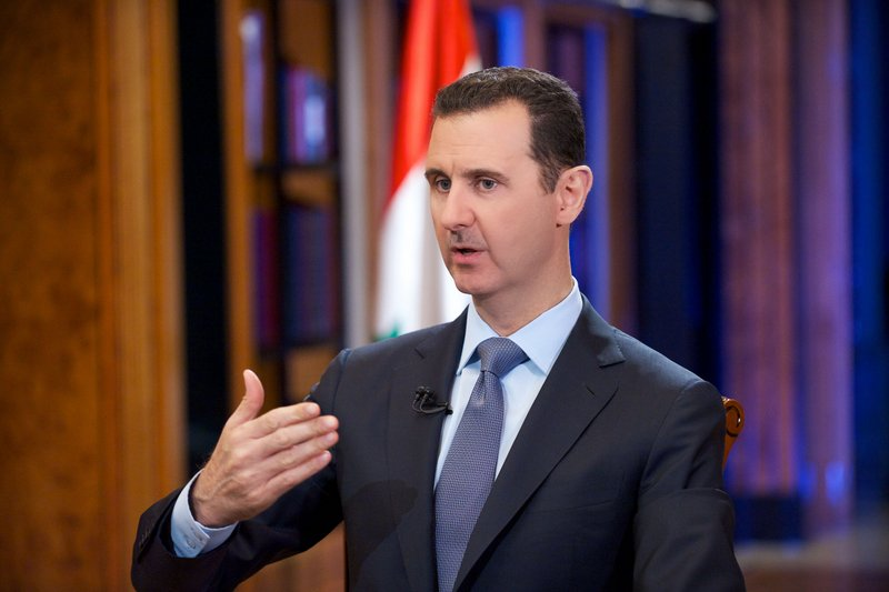 """. <p>5. (tie) BASHAR ASSAD <p>Insists Syria didn�t use chemical weapons, so the weapons must have used themselves. (unranked) <p><b><a href=\'http://worldnews.nbcnews.com/_news/2013/09/18/20565969-defiant-assad-we-didnt-use-any-chemical-weapons\' target=\""""_blank\""""> HUH?</a></b> <p>    (AP Photo/SANA)"""