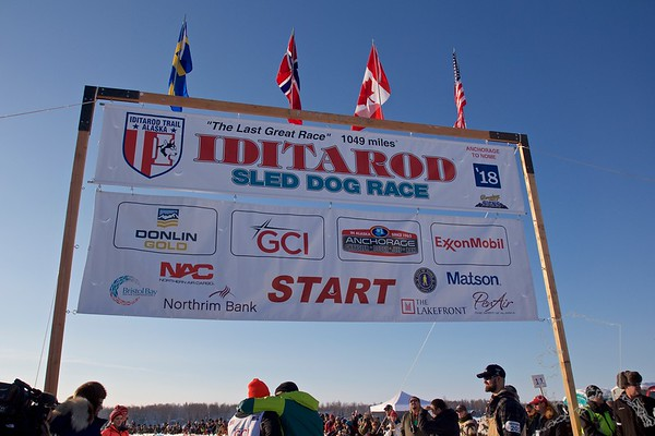 Iditarod 2018 Start