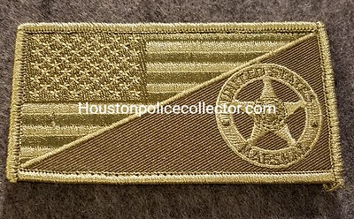 Marshal Flag Patches