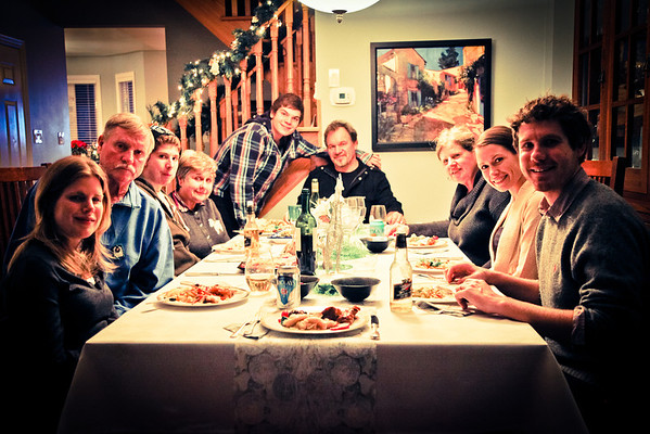 Boxing Day 2011 - Olds Dinner