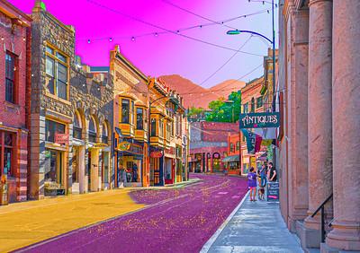 'Main Street,' Bisbee, AZ, 2019.