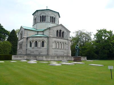 Frogmore Royal Mausoleum,Windsor 2007.