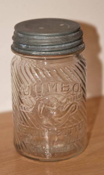Jumbo Peanut Butter Jar