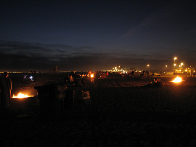 2007.06.22 Fri - Sarang Community Church LIFT bonfire @ Bolsa Chica Beach