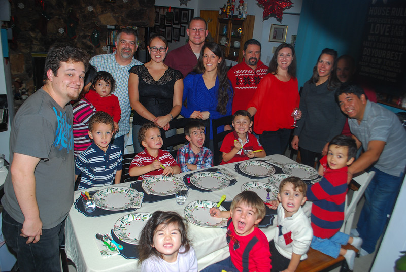 Holiday Dinner 2014