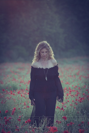 Kate and the Poppy Field