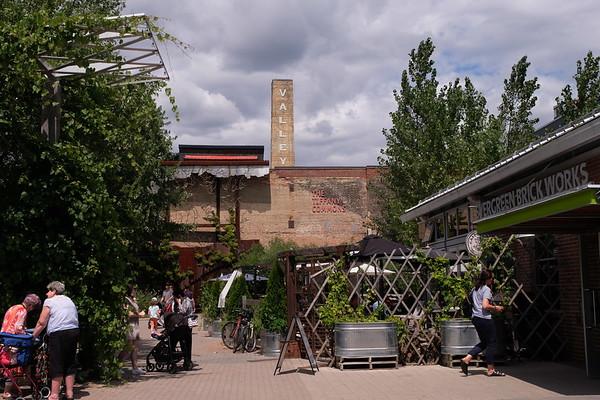 Exploring Evergreen Brick Works