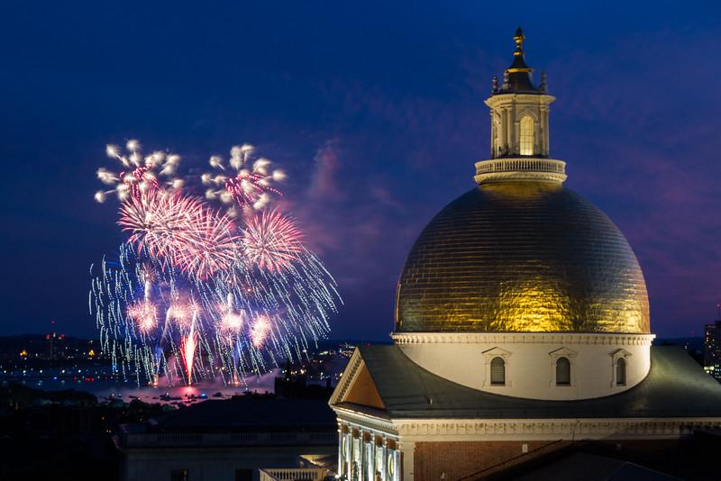 2016-07-04 July 4th Boston Fireworks