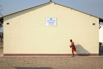 Ngamo School Savana Places Childrens Faces