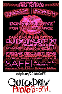 Rio Rita's Dance Party & Donation Drive for SAFE