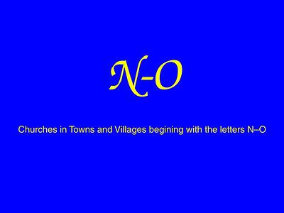 N–O Churches
