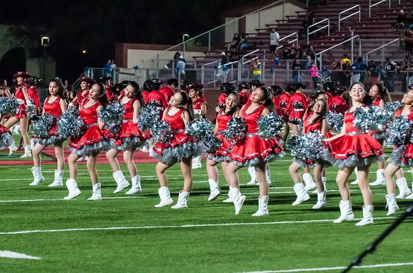 20171006 - Football - Palmview vs Juarez-Lincoln - Palmview Band Dance_LG