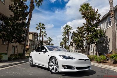 2020 Tesla Model S - Full Wrap STEK DYNOShield with CQFR