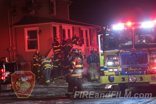 Luzerne County - Hazle Township - Dwelling Fire - 12/22/2019