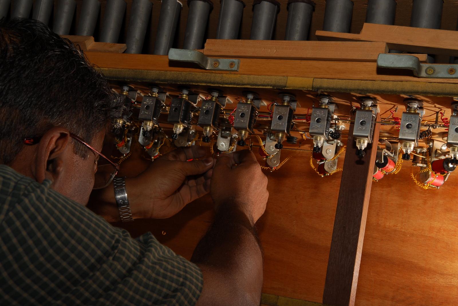 Cathedral of the Good Shepherd Bevington Organ electro-pneumatic action Robert Navaratnam