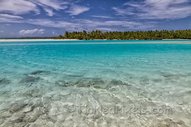 Tekopua Island from Tapuaetai