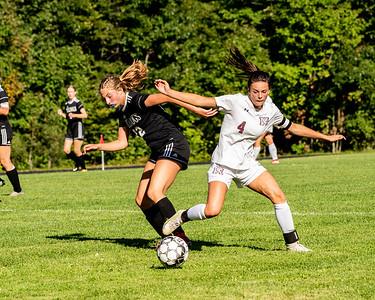 2021 Girls Soccer:  Hall-Dale vs Monmouth