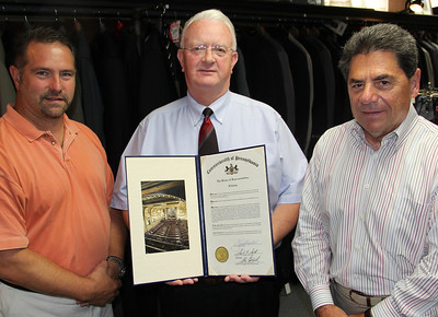 Citation from Representative Jerry Knowles to Charles X. Block, Tamaqua (7-22-2013)