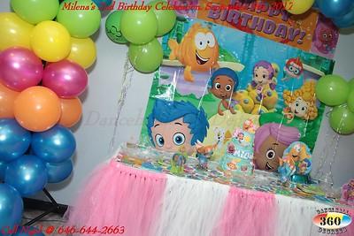 Milena's 2nd Birthday Celebration. Sept. 9th, 2017