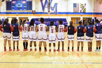 12-05-2016 Watkins Mill HS vs Thomas Jefferson HS Girls Varsity Basketball, Photos by Jeffrey Vogt Photography with Kyle Hall