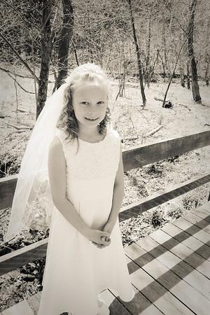 Jenna's 1st Communion