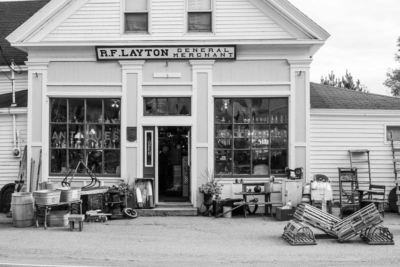 antiques, Great Village