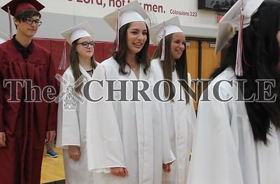 Pella Christian High School graduation 2018