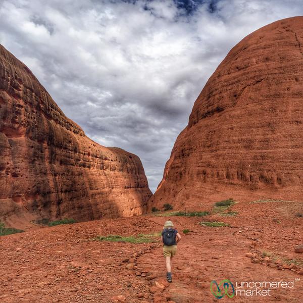 Walpa Gorge Walk at Kata-Tjuta - Northern Territory, Australia