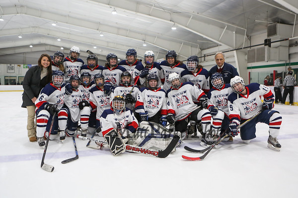 2017-12-16 Saints Warriors Girls Ice Hockey vs Kingswood