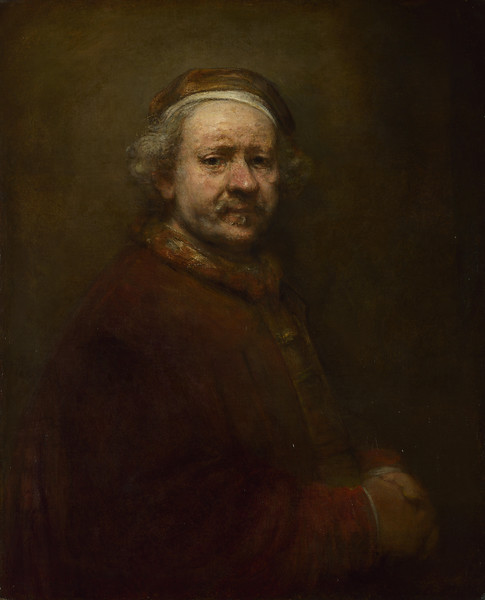 Self Portrait at the Age of 63